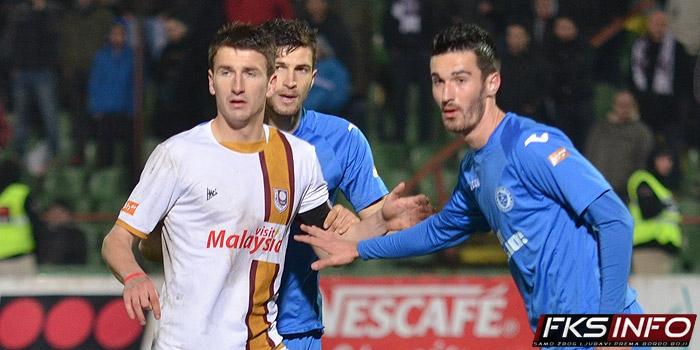 Dupovac odigrao 100. utakmicu u bordo dresu