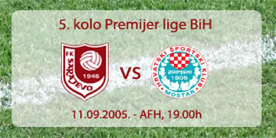 Stadion AFH, nedjelja u 19h !!!