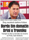 Bordo tim domaćin Drini u Travniku